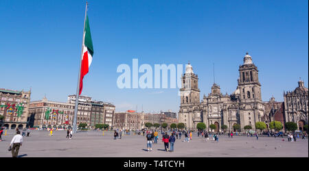 cathedral metropolitana, mexico city, mexico - Stock Photo