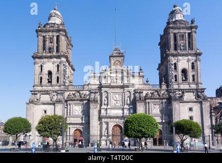 cathedral metropolitana, mexico city, mexico - Stock Photo