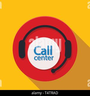 call center icon - Stock Photo