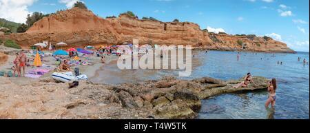 Sa Caleta, Es Bol Nou, Ibiza, balearic islands, Spain. - Stock Photo