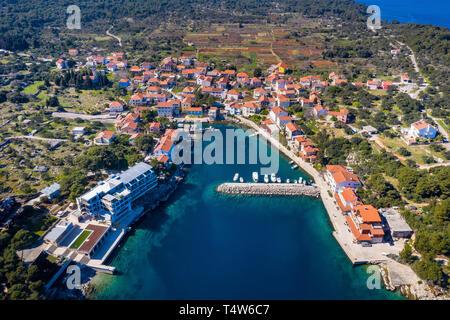 Božava, island Dugi otok, Croatia - Stock Photo