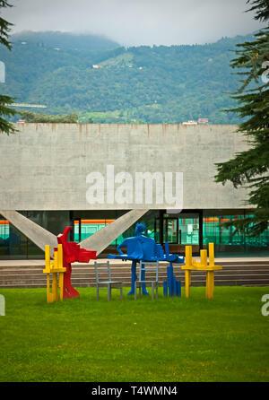 Accademia di Architettura in Mendrisio - Stock Photo