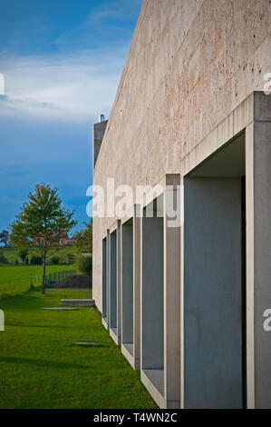 The Corpataux-Magnedens Municipal Building in Switzerland - Stock Photo