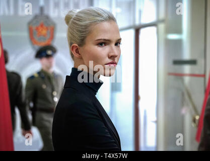 RELEASE DATE: June 21, 2019 TITLE: Anna STUDIO: Summit Entertainment DIRECTOR: Luc Besson PLOT: Beneath Anna Poliatova's striking beauty lies a secret that will unleash her indelible strength and skill to become one of the world's most feared government assassins. STARRING: SASHA LUSS as Anna. (Credit Image: © Summit Entertainment/Entertainment Pictures) - Stock Photo