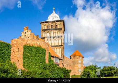 Gate in Lübeck, Germany - Stock Photo