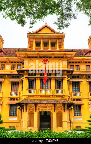 Ministry of Foreign Affairs of Vietnam in Hanoi - Stock Photo