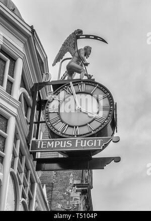 Tempus fugit, Dysons, Leeds - Stock Photo