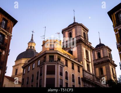 Colegiata de San Isidro. Madrid. España - Stock Photo