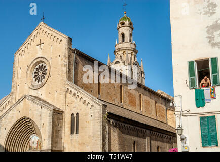 Duomo San Siro, San Remo, Liguria, North West Italy | Dom Duomo San Siro, San Remo, Ligurien, Nordwestitalien - Stock Photo