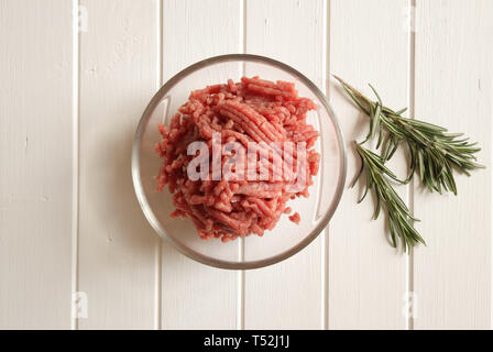 Fresh minced meat - Stock Photo