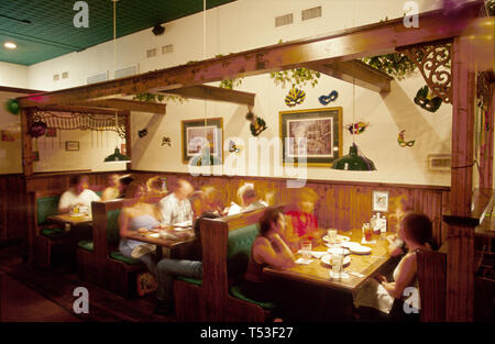 Florida Polk County Lakeland Main Street Harry's Seafood Bar & Grille - Stock Photo