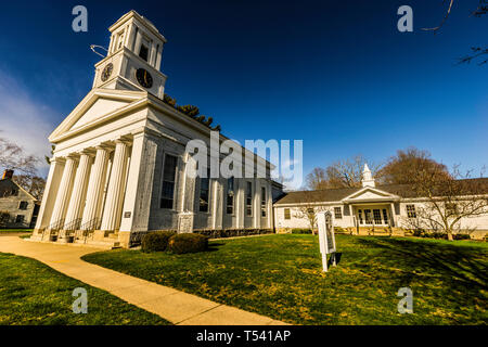 First Church of Christ Old Saybrook South Green  Old Saybrook, Connecticut, USA - Stock Photo