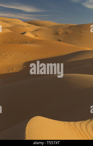 UAE, Abu Dhabi Province, Liwa Oasis, Rub Al Khali desert (Empty Quarter) - Stock Photo