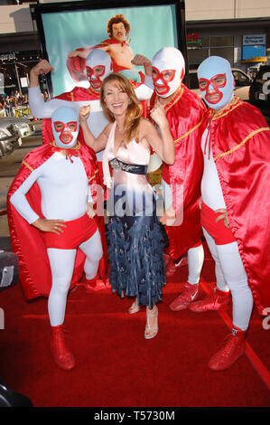 LOS ANGELES, CA. June 12, 2006: Actress JANE SEYMOUR at the world premiere, in Hollywood, of 'Nacho Libre'. © 2006 Paul Smith / Featureflash - Stock Photo