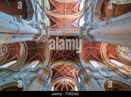 BRUSSELS, BELGIUM – AUGUST 05, 2014 : Interiors of Saint John the Baptist church at the Beguinage,  August 5, 2014,  in  Brussels, Belgium - Stock Photo