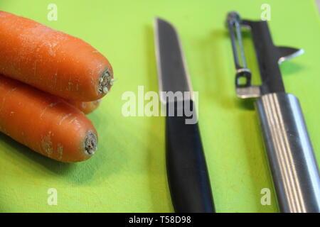 Zubereitung Essen Karotten Küche - Stock Photo