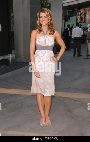 LOS ANGELES, CA. July 11, 2006: Actress COURTNEY HANSEN at the Los Angeles premiere of 'Clerks II'. © 2006 Paul Smith / Featureflash - Stock Photo