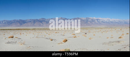 Panamint mountains, Death Valley, America. - Stock Photo