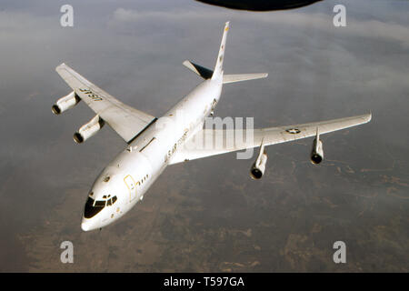 USAF United States Air Force Northrop Grumman E-8C Joint Stars - Stock Photo