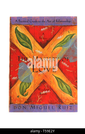 The book, The Mastery of Love: A Practical Guide to the Art of Relationship by Don Miguel Ruiz - Stock Photo