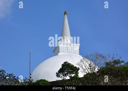 Maha Stupa, Mihintale, Sri Lanka. - Stock Photo