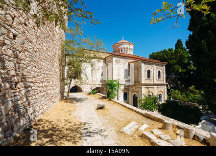Orthodox Church on Samos in Greece - Stock Photo