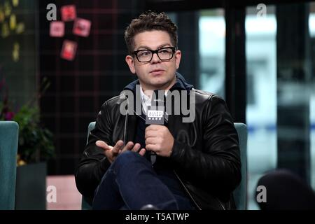New York, NY, USA. 22nd Apr, 2019. inside for AOL Build Series Celebrity Candids - MON, AOL Build Series, New York, NY April 22, 2019. Credit: Steve Mack/Everett Collection/Alamy Live News - Stock Photo