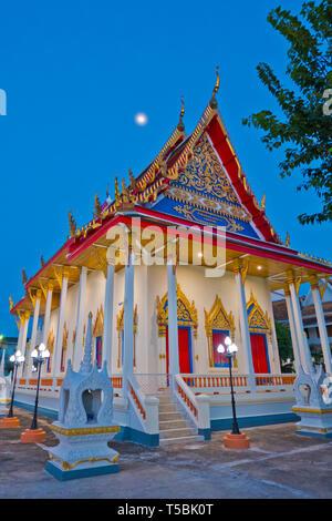 Pagoda, Wat Klang, Surat Thani, Thailand - Stock Photo