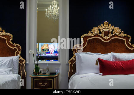 Trump International Hotel. - Stock Photo