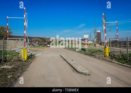 Kamp-Lintfort, Ruhr area, Lower Rhine, North Rhine-Westphalia, Germany - The West colliery site will be redesigned as a colliery park for the State Ga - Stock Photo