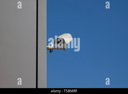Security Camera in Berlin, Germany - Stock Photo