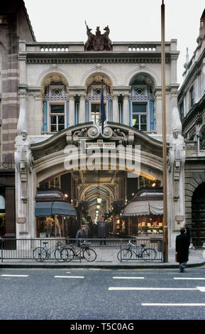 The Burlington Arcade, London, England, UK - Stock Photo