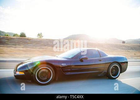 Chevrolet Corvette - Stock Photo