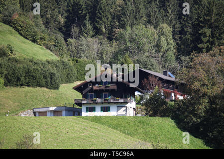 Landscape in Austria - Zell am See - Europe - Stock Photo