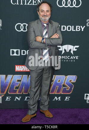 Los Angeles, United States. 22nd Apr, 2019.LOS ANGELES, CALIFORNIA, USA - APRIL 22: Kevin Pollak arrives at the World Premiere Of Walt Disney Studios Motion Pictures and Marvel Studios' 'Avengers: Endgame' held at the Los Angeles Convention Center on April 22, 2019 in Los Angeles, California, United States. (Photo by Xavier Collin/Image Press Agency) Credit: Image Press Agency/Alamy Live News - Stock Photo