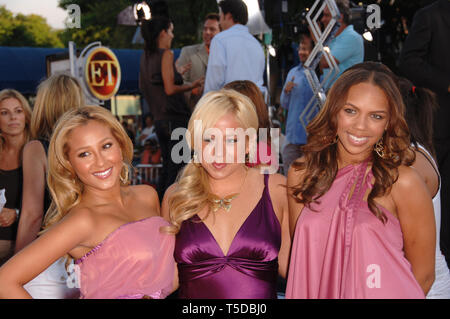 LOS ANGELES, CA. July 21, 2006: The CHEETAH GIRLS at the world premiere, in Los Angeles, of 'Miami Vice.' © 2006 Paul Smith / Featureflash - Stock Photo