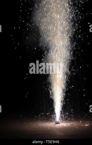 Diwali festival firework, India, Asia - Stock Photo