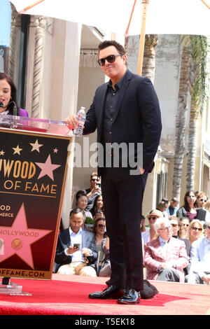 April 23, 2019 - Los Angeles, CA, USA - LOS ANGELES - APR 23:  Seth MacFarlane at the Seth MacFarlane Star Ceremony on the Hollywood Walk of Fame on April 23, 2019 in Los Angeles, CA (Credit Image: © Kay Blake/ZUMA Wire) - Stock Photo