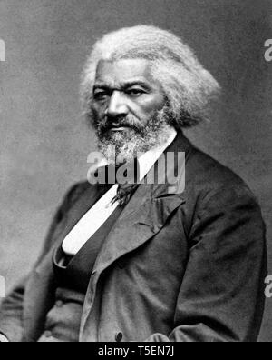 Frederick Douglass (1818-1895), portrait, c. 1879 - Stock Photo