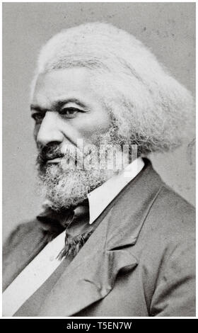 Frederick Douglass (1818-1895), portrait by George Kendall Warren, 1876 - Stock Photo