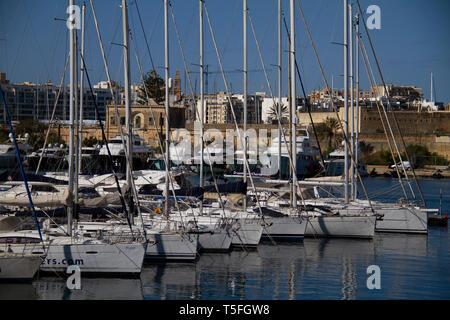 Luxury Living High End Lifestyle Yachting Marina - Stock Photo