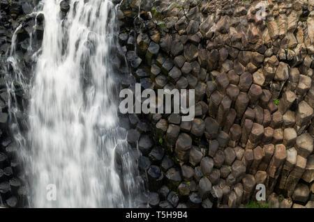 Basaltic Prisms - Stock Photo