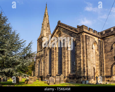 Church of the Holy Trinity on Kirkby Road in Ripon North Yorkshire England - Stock Photo
