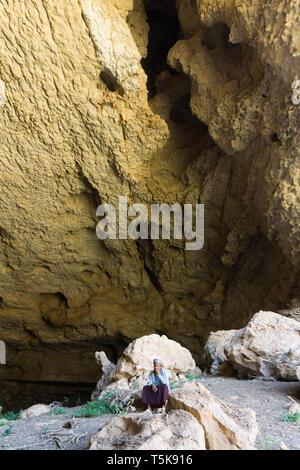 Teeq Cave, Dhorfar, Oman - Stock Photo