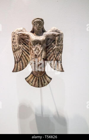 Le Louvre Lens : Homer exhibition,Siren - Stock Photo