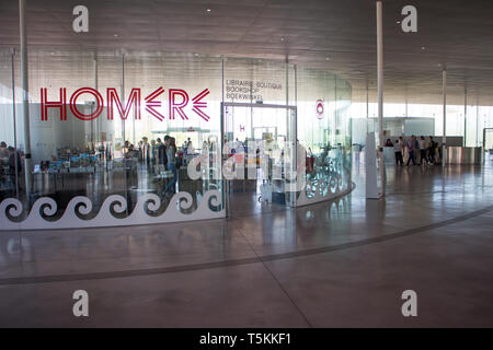 Le Louvre Lens : Architect SANAA. Temporary exhibition on Homer - Stock Photo
