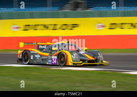Team Virage Ligier JSP3 LMP3 car during the ELMS 4 Hours of Silverstone, 2018 - Stock Photo