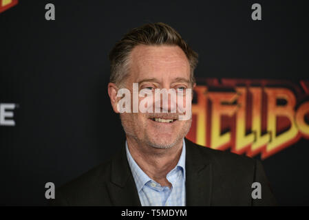 'Hellboy' special screening, New York, USA - 09 Apr 2019 - Kirk Bovill - Stock Photo