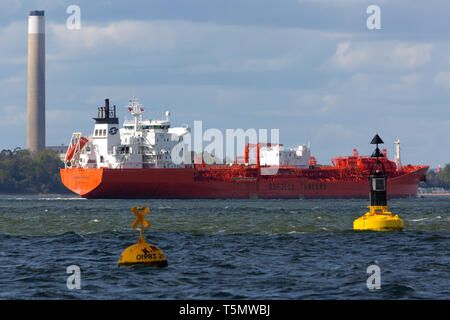 Liquefied,propane,butane,flammable,hydrocarbons,transport,ship,shipping,carrier,refrigerant,aerosol,propellant,autogas,refined,wet,natural,gas,tanks,h - Stock Photo