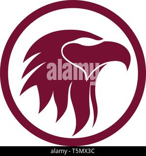 Eagle head bird logo and symbol - Stock Photo